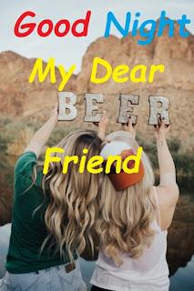 good night dear friends images