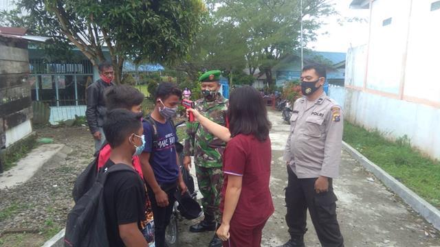 Operasi PPKM Skal Micro Diwilayah Dilakukan Personel Jajaran Kodim 0207/Simalungun