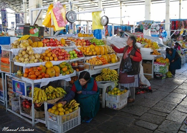 Cusco, Mercado San Pedro