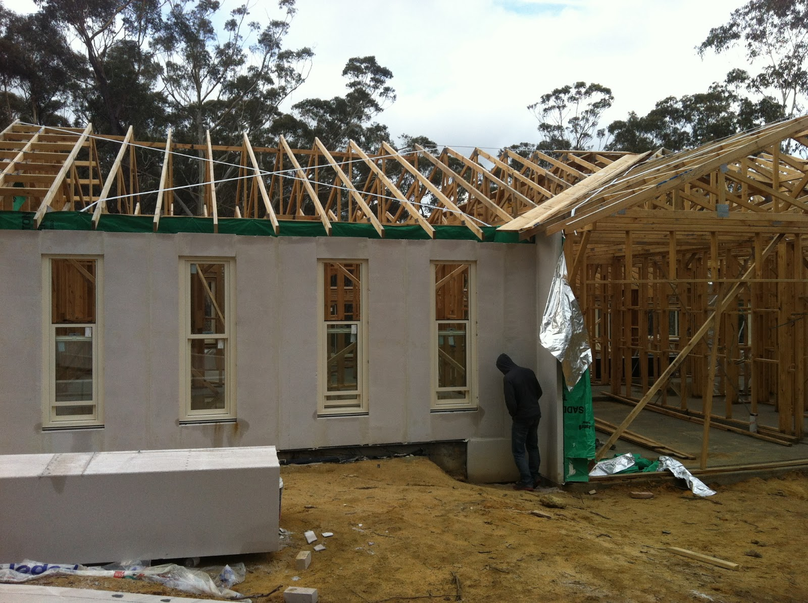 Windows & Hebel   Jack & Kuva's New House