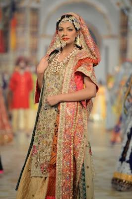a190d14f3a Ali Xeeshan - Pantene Bridal Couture Week PBCW 2013 - Pakistani Bridal  Fashion