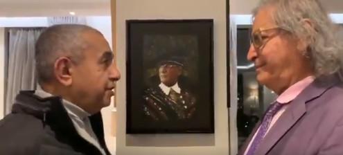 داوود الشريان يظهر برفقة عثمان العمير ينفى شائعة اعتقاله