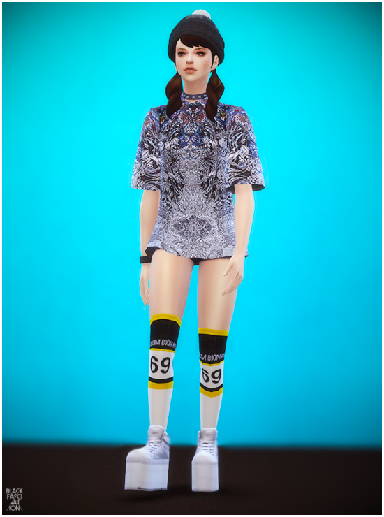 My Sims 4 Blog Big Shirts For Females By Blackle