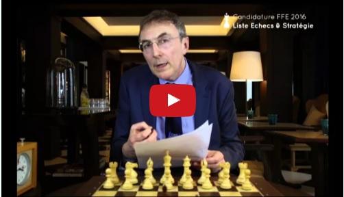 Candidature de Philippe Dornbusch à la Fédération Française des Échecs
