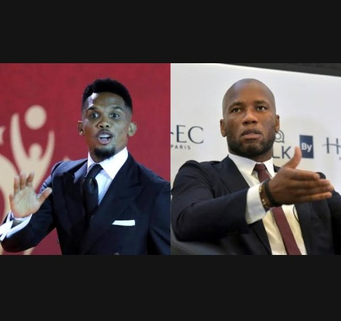 COVID-19: Africa is not a  Laboratory, Don't test your Vaccines on Africans - Drogba and Eto' o rejects French ideology