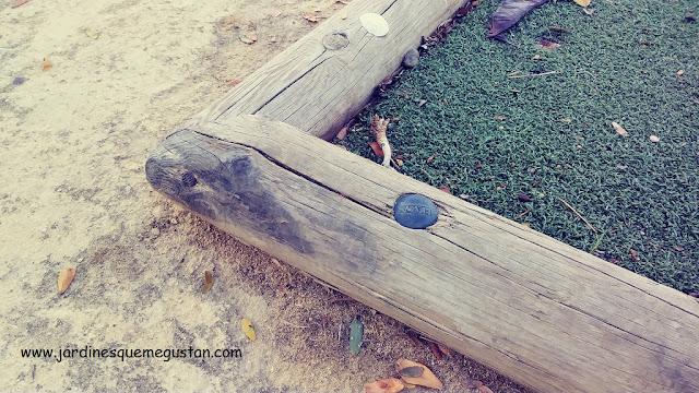 Bordura de madera