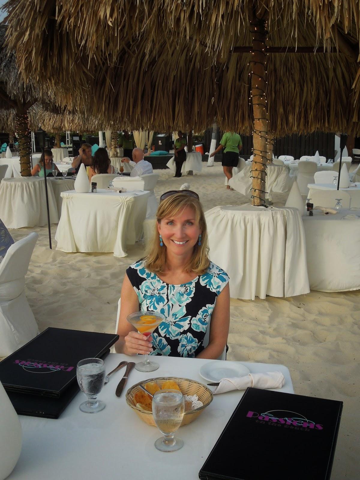 Susan at dinner
