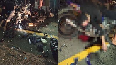Kecelakaan maut di Ajangale Bone, 2 Orang Tewas di Tempat 2 Orang Kritis