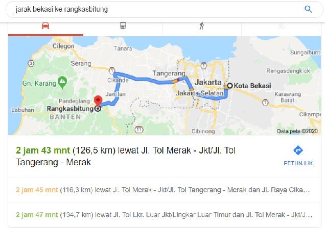 Cara Menuju Rangkasbitung Dari Bekasi Dengan Commuter Line