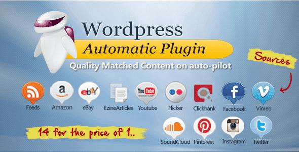 تحميل WordPress Automatic Plugin v3.27 المدفوعة مجانا