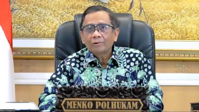 Respons Cuitan SBY, Mahfud MD: Berdoa Saja Kok Jadi Berita?