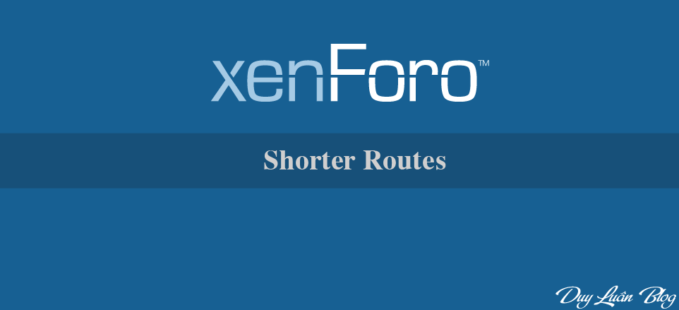 Shorter Routes - Rút gọn routes 1.0.1