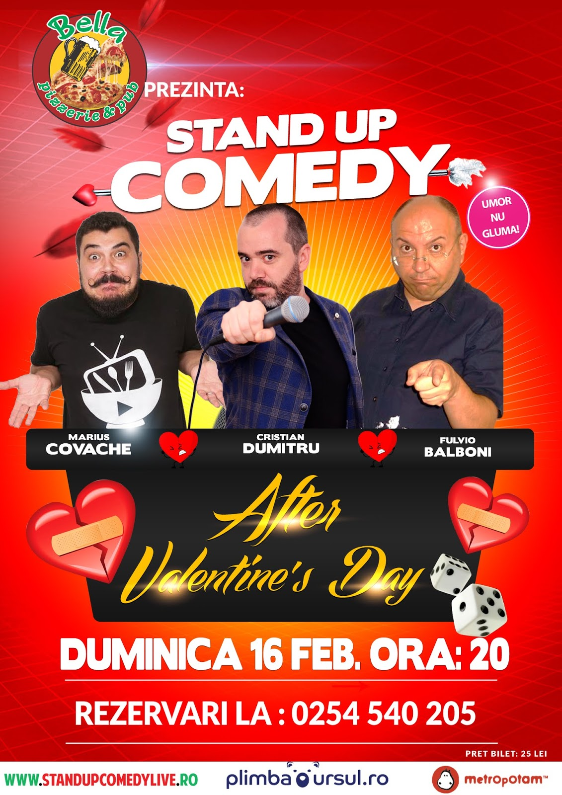 Stand Up Comedy Romania Petrosani 2020