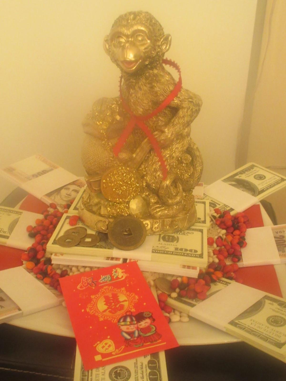 crónicas de mundos ocultos: Amuleto para el Año nuevo chino: el mono ...