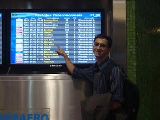 Aeroporto internacional de Guarulhos/SP