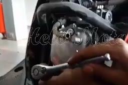 Cara Stel Klep Mio M3 125