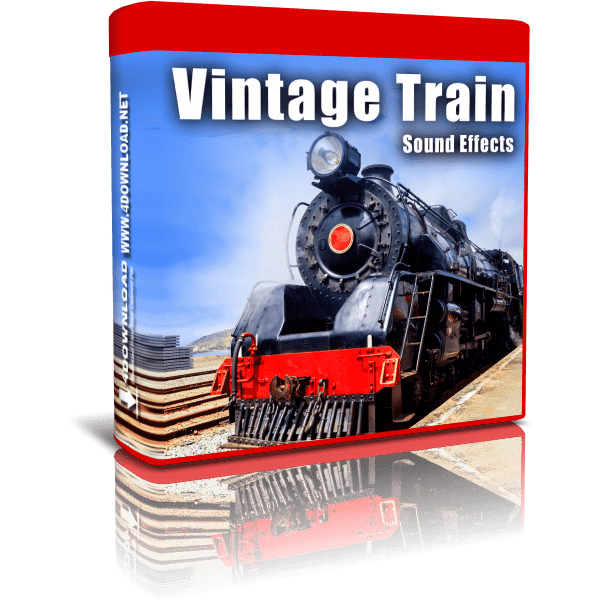 Vintage Train Sound Effects FLAC
