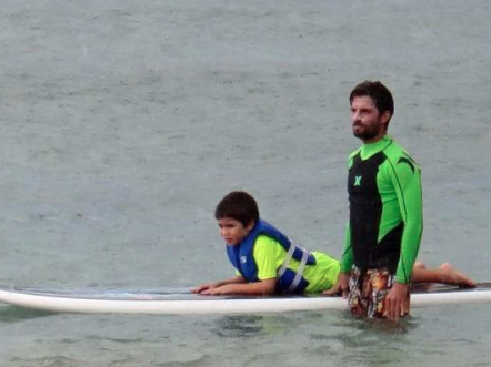 Autistic Boy Treated With CBD Surf Therapy