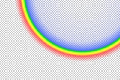 "CoffeeShop ""Creating Custom Rainbow Overlay"" Photoshop/PSE Tutorial!"