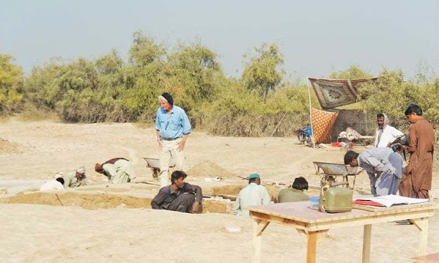 Indus Valley artefacts unearthed at Chahun Jo Daro