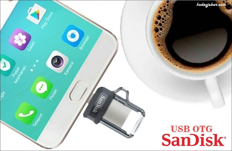Backup Data Smartphone Lebih Praktis Pakai USB OTG SanDisk