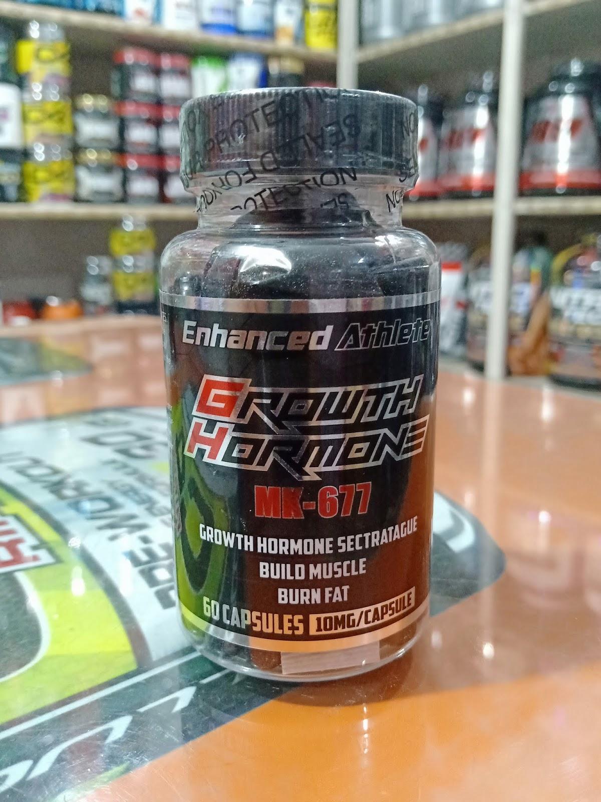 Enhanced Athlete Mk677 60 Capsules 10mg per Cap - NCR Food