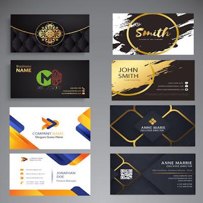 قوالب بزنس كارد business card للالستريتور و الفوتوشوب PSD,AI