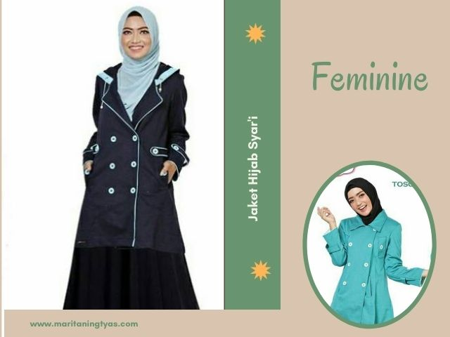 jaket hijaber feminine