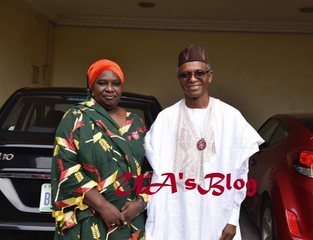 Governor El-Rufai Picks A Woman As Running Mate (Photo)