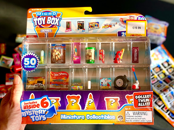 Review: Micro Toy Box Collectable Miniature Toys