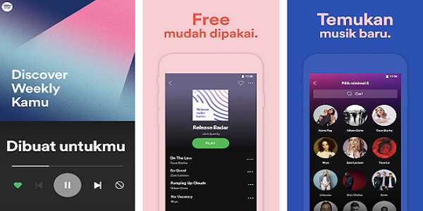 Aplikasi Streaming Musik Terkeren
