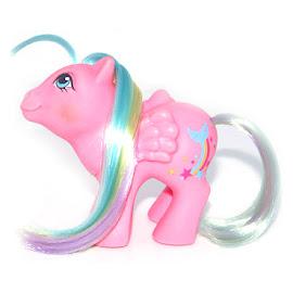 MLP Baby Brightbow Year Nine Rainbow Baby Ponies G1 Pony