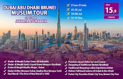 Paket Tour Dubai Murah 2019