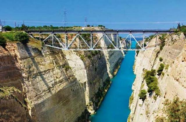 Πτώση άνδρα πριν από λίγο από την γέφυρα του Ισθμού της Κορίνθου
