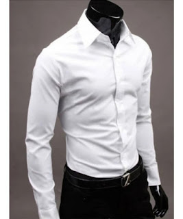 Men's Cotton Solid Long Sleeves Regular Fit Formal Shirt