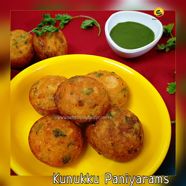 Kunukku paniyaram is a protein rich appe made using various lentils. The lentils are soaked and ground to a fine batter along with chillies and curry  leaves,later fried in the appe pan. We can call this a no fried version of Kunukku, dal appe , lentil dumplings using Aebelskeiwer pan , how to make dal appam , kunukku paniyaram