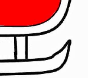 Moldes de trenó - Sugestões para Painel