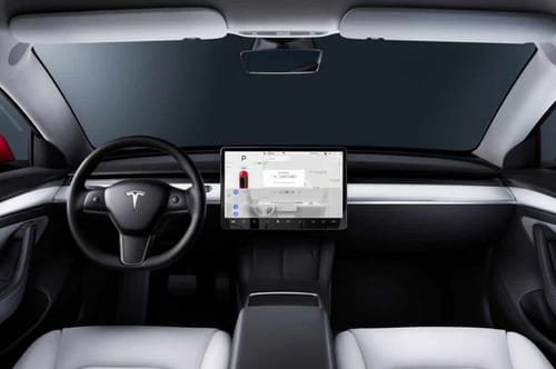 Tesla uses built-in cameras to monitor drivers