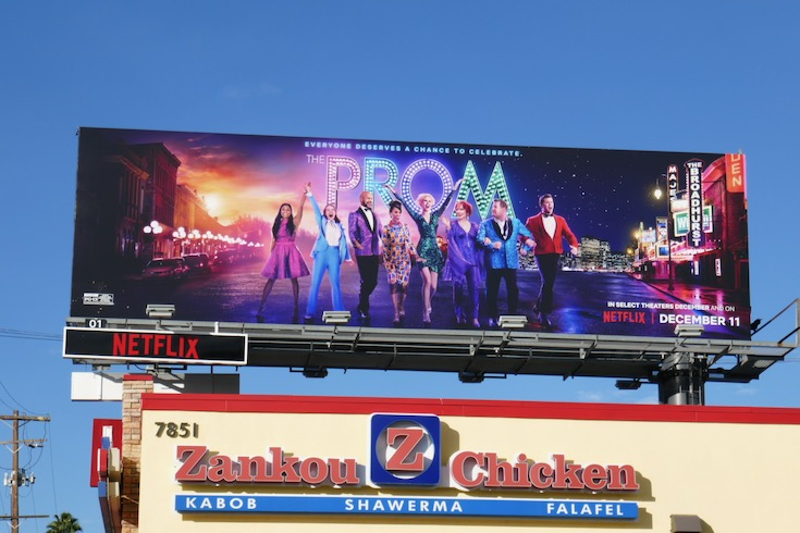Prom Netflix billboard
