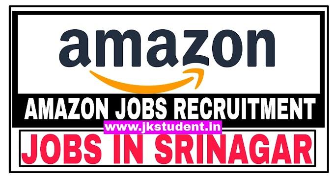 Amazon  Recruitment 2021 For Various Posts
