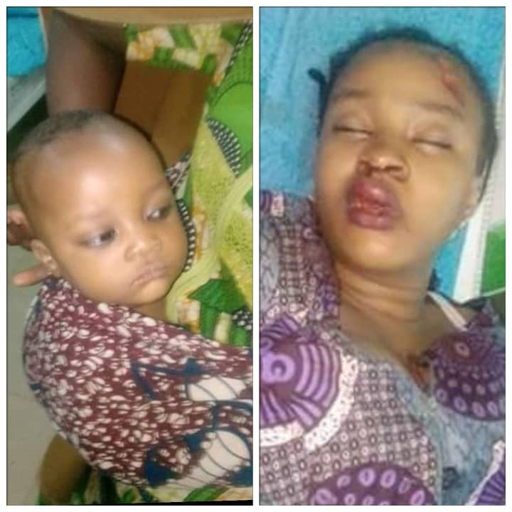 Unidentified Young Woman And Her Child Involved In Accident - Please Share Till Their Family Locates Them (Photos)