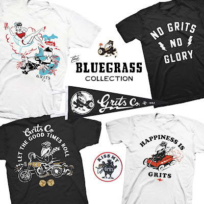 The Bluegrass T-Shirt Collection by Grits Co.