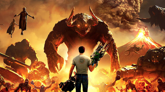 Serious Sam 4 review, another preview