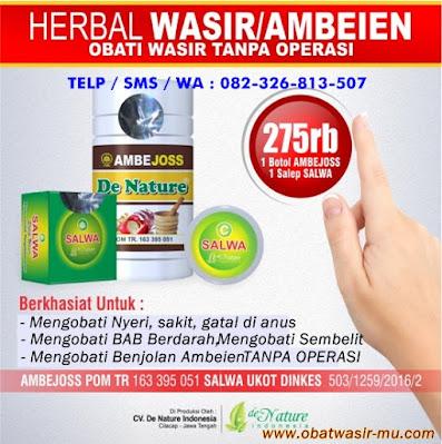 Jual Ambejoss (Obat Wasir Tanpa Operasi) Di Banjarnegara. WA 082326813507