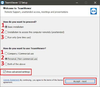 Hướng dẫn cài đặt và sử dụng TeamViewer 12 chi tiết