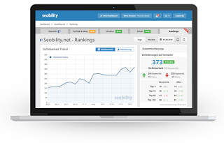 Seobility monitoring screen