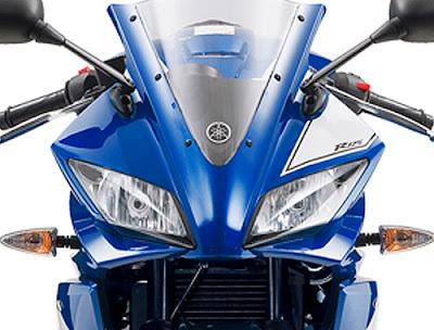 Yamaha YZF R125 Headlight picture