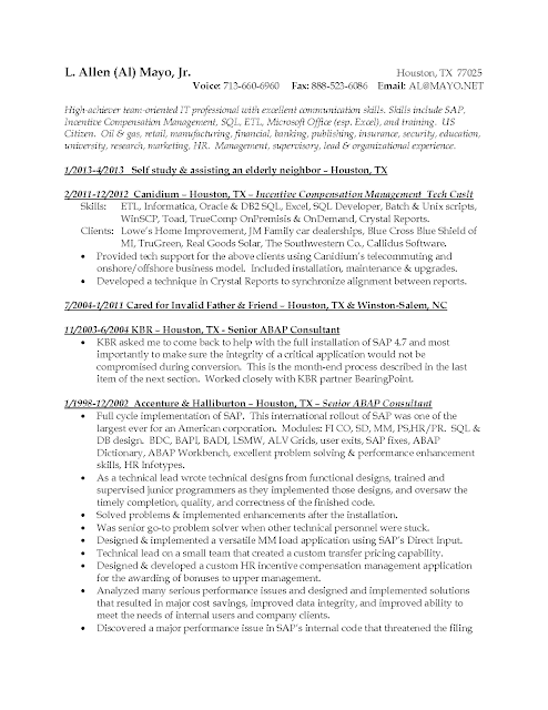 Data Modeler Resume Doc. sample resume for it professional 7 ...