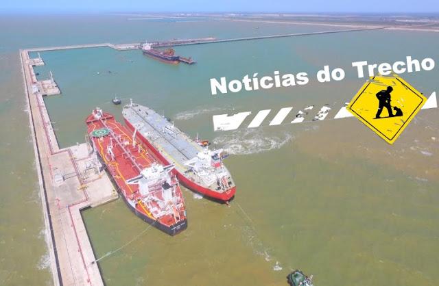 Resultado de imagem para terminal do Porto do Açu