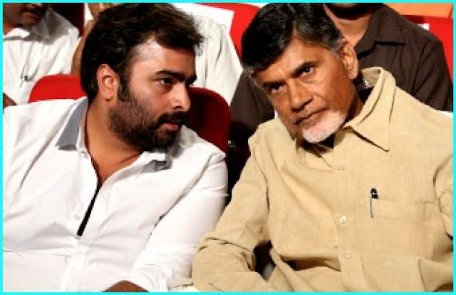 Nara Rohit and Chandrababu Naidu